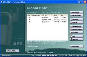Global Safe Disk AES