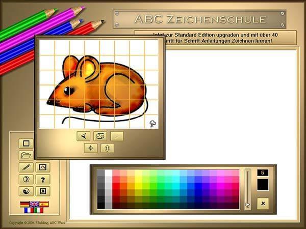 ABC Zeichenschule I - Tiere