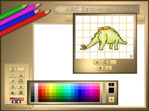 ABC Zeichenschule III - Dinosaurier