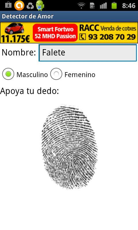 Detector de Amor