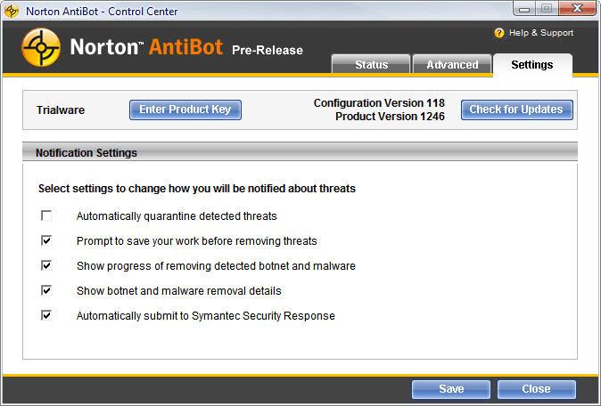 Norton AntiBot