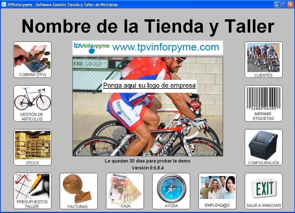 Programa Tienda y Taller de bicicletas