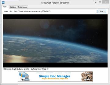 Megaget Streamer