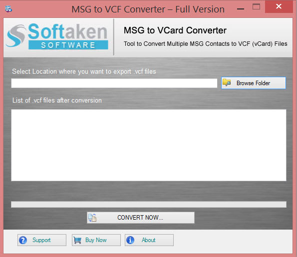 MSG to VCF Converter