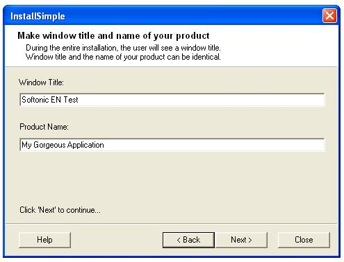 Install Simple