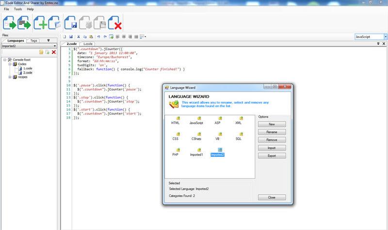 Code Editor And Sharer