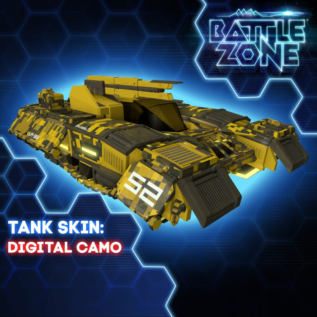 Digital Camo Tank Skin PS VR PS4