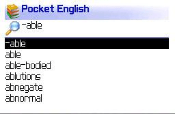 Pocket Oxford English Dictionary