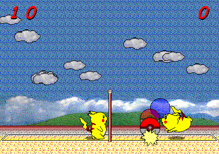 Pikaball Volleyball