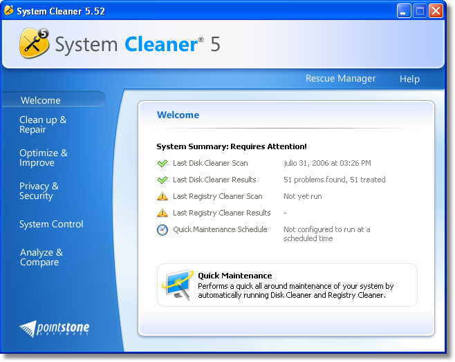 System Cleaner - Download