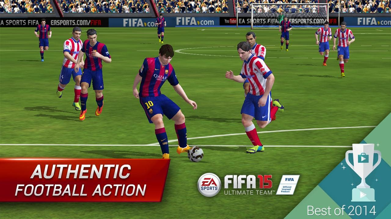 Download best football or soccer games for android in 2014 - Get On The Field And Take Part In Competitions Where You Can Earn Experience Points And Virtual Money To Spend On Recruiting The Biggest Stars To Improve