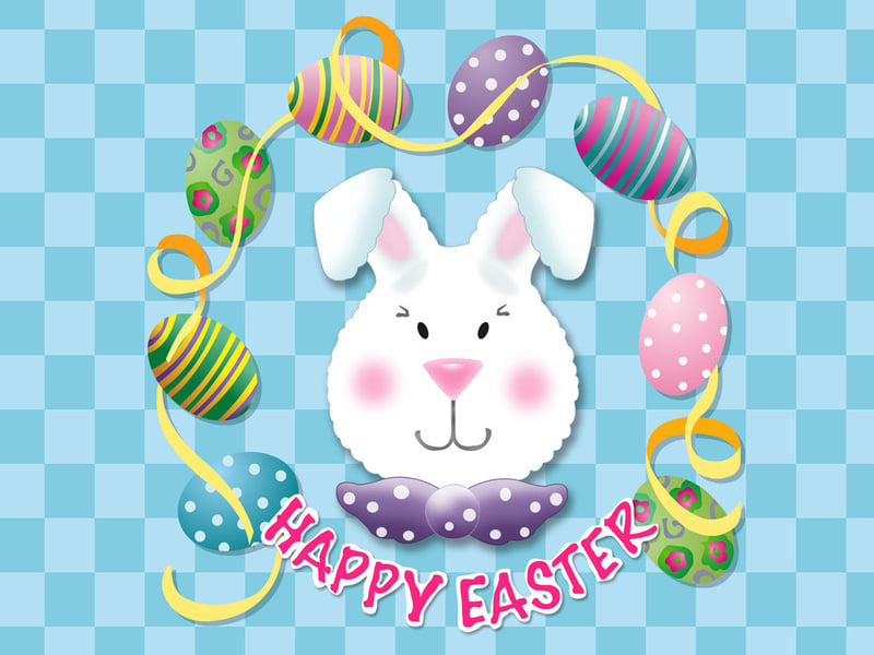 Happy Easter Rabbit Wallpaper