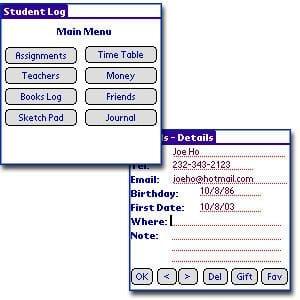 Student Log