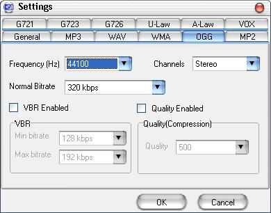 Arial Audio Converter