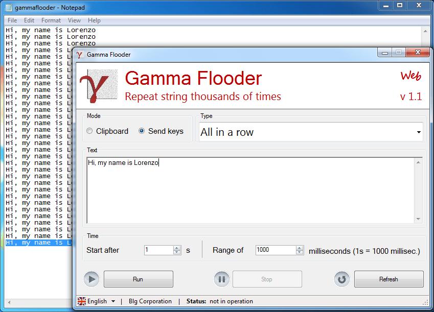 Gamma Flooder