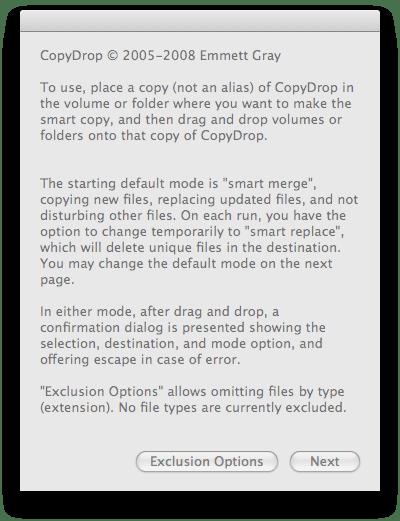 CopyDrop