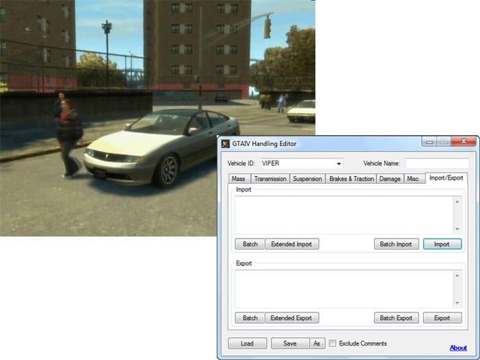 GTA IV Handling Editor 1.4