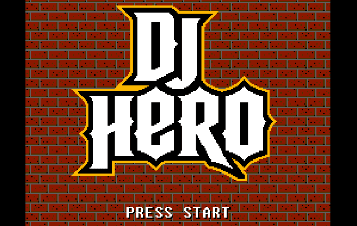 Pixel Force: DJ Hero