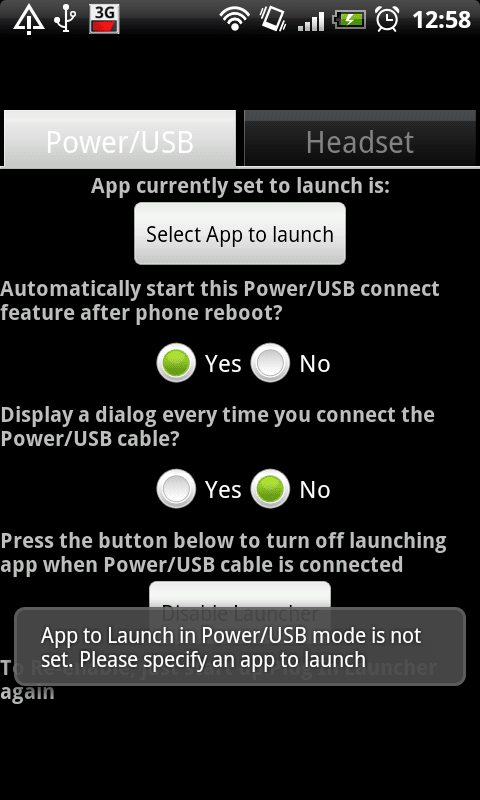 Plug In Launcher