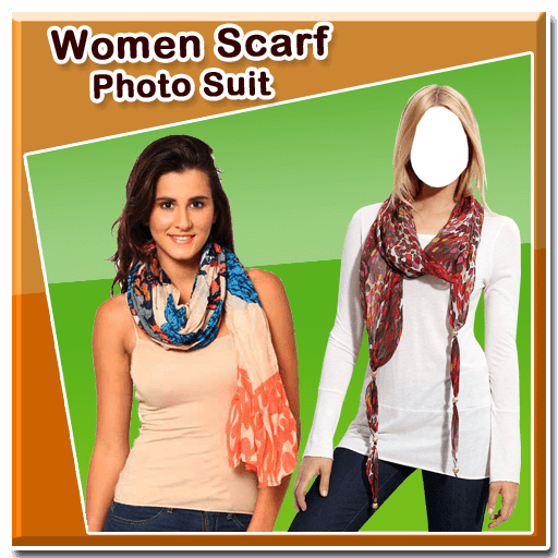 Women Scarf Photo Suit New 1.0