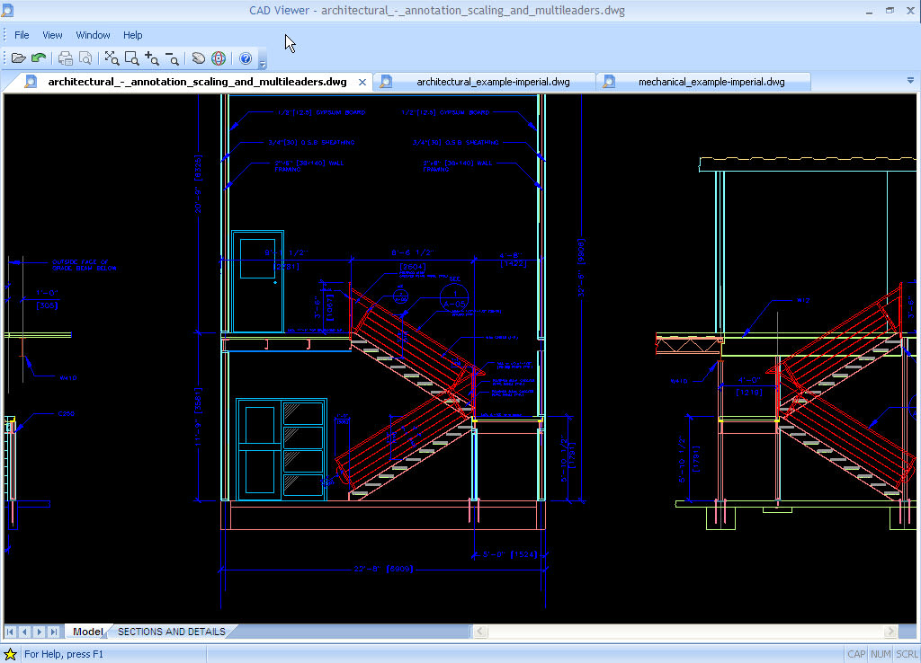 Download autodesk dwg trueview free latest version Online cad editor