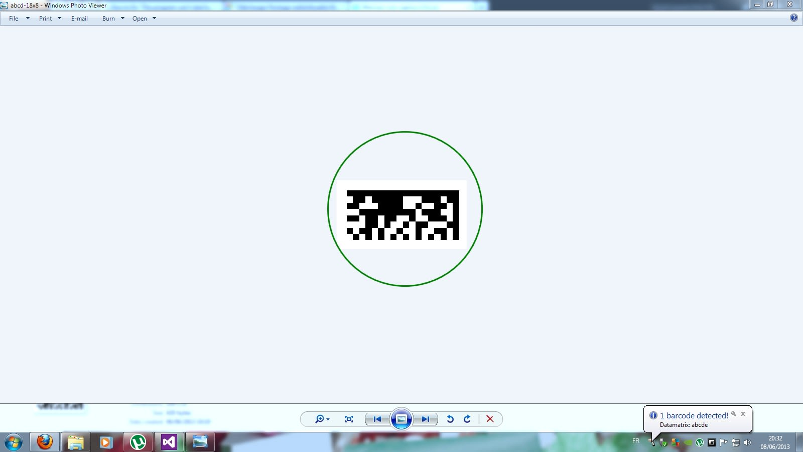 ORPALIS Virtual Barcode Reader