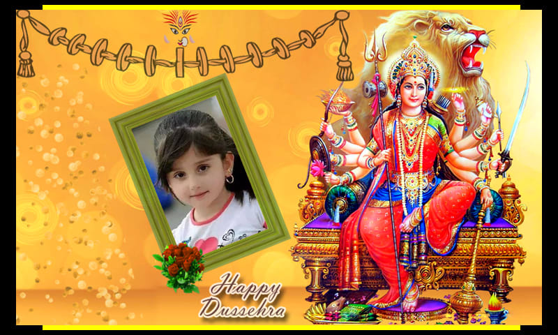 Happy Dussehra Photo Frames