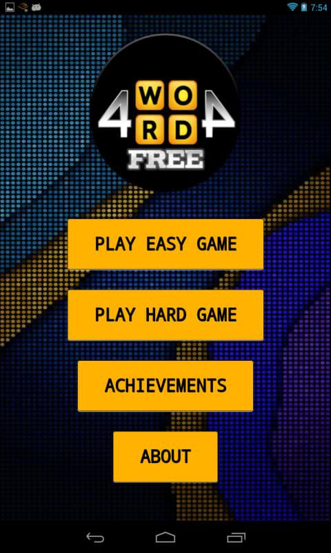 4WORD4 Word Game
