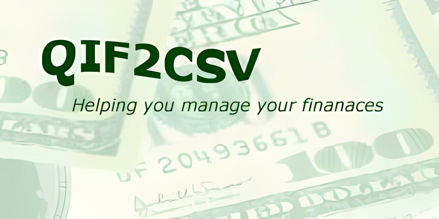 QIF2CSV