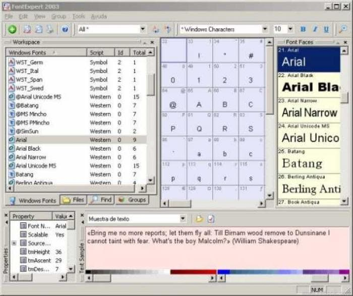 FontExpert 2003