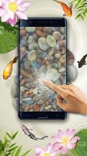 Koi pond 3D live wallpaper