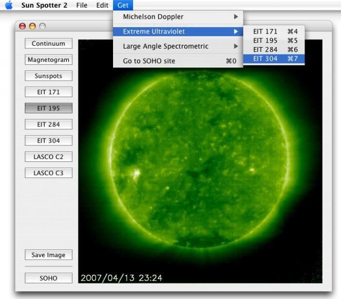 Sun Spotter