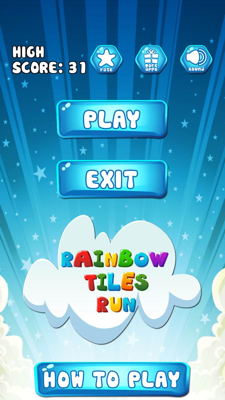Rainbow Tiles Run