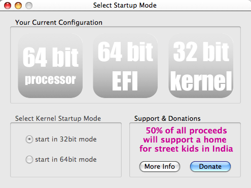 Startup Mode Selector