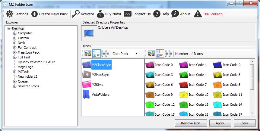 MZ FolderIcon