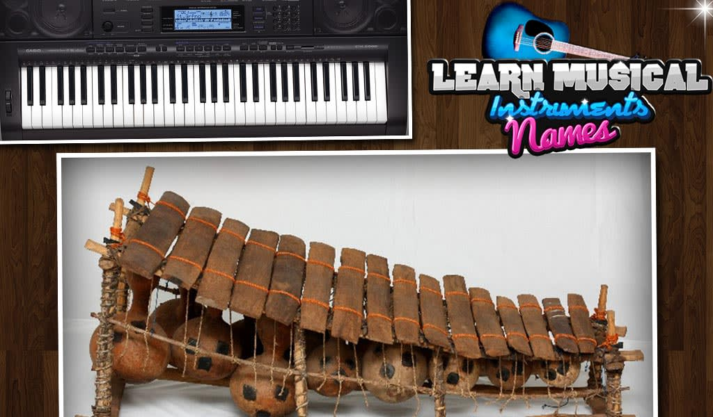 Learning Music Instrument Name