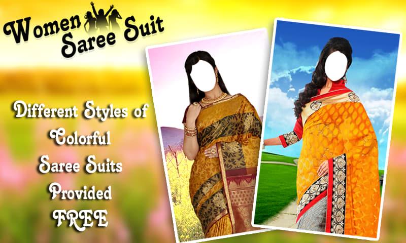 Women Saree Suit New