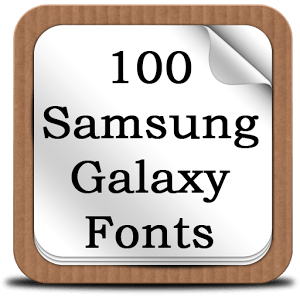 100 SamsungGalaxy Fonts 0.3