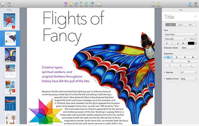 mac pages download free
