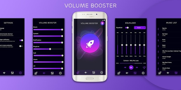 Volume booster  Sound booster