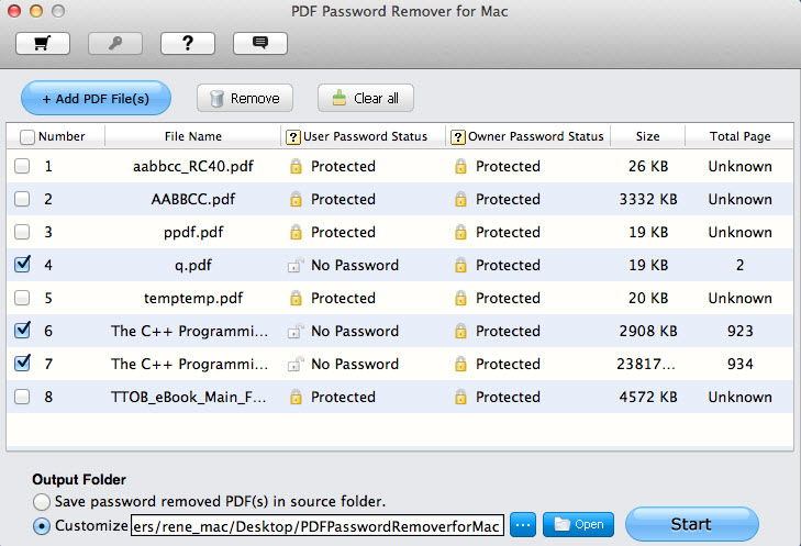 Tenorshare PDF Password Remover for Mac