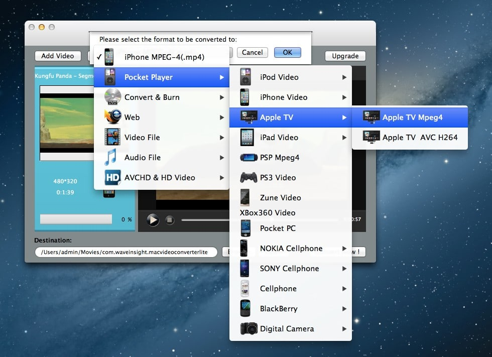 Free Video Converter for Mac