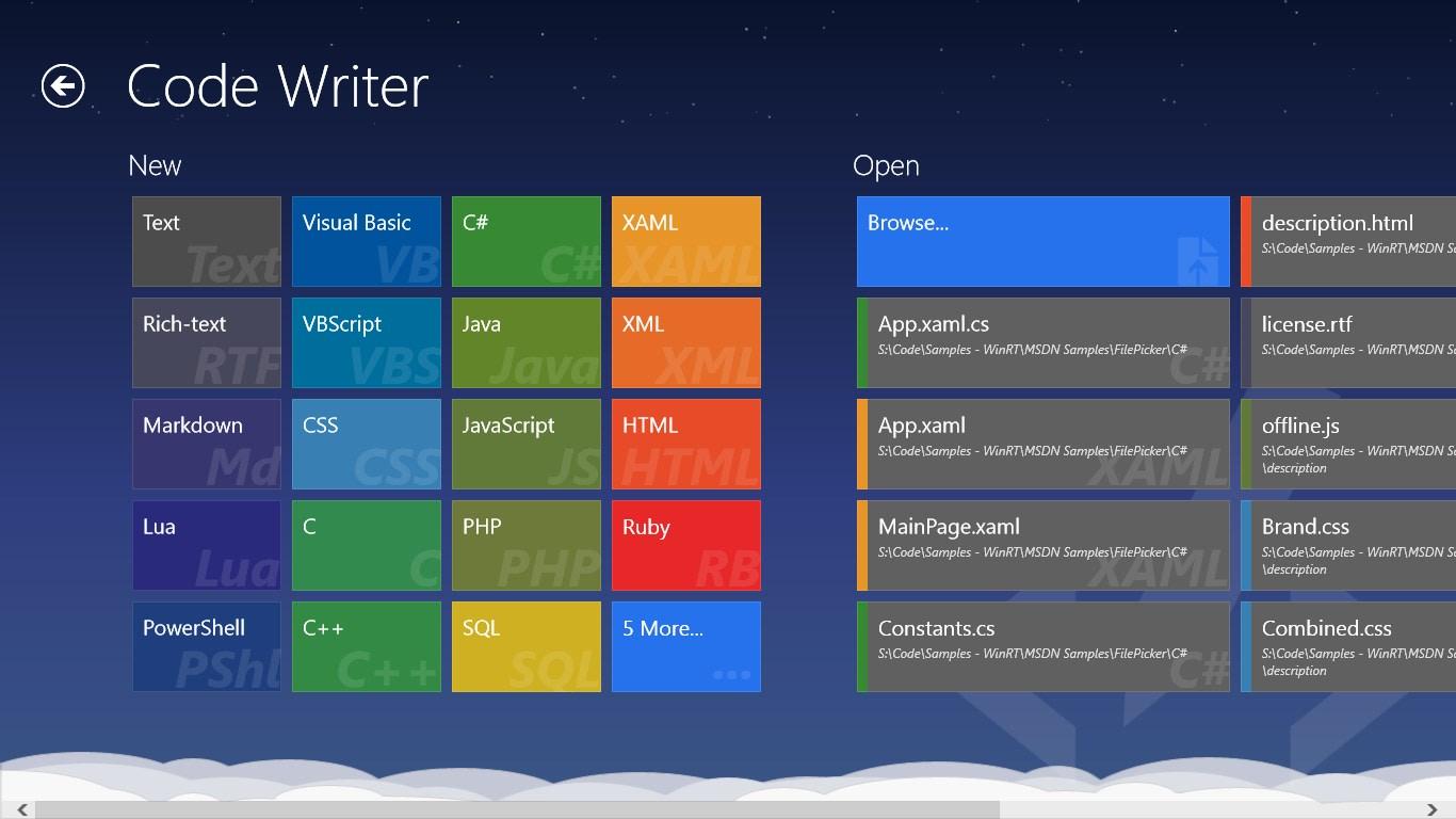 Code Writer