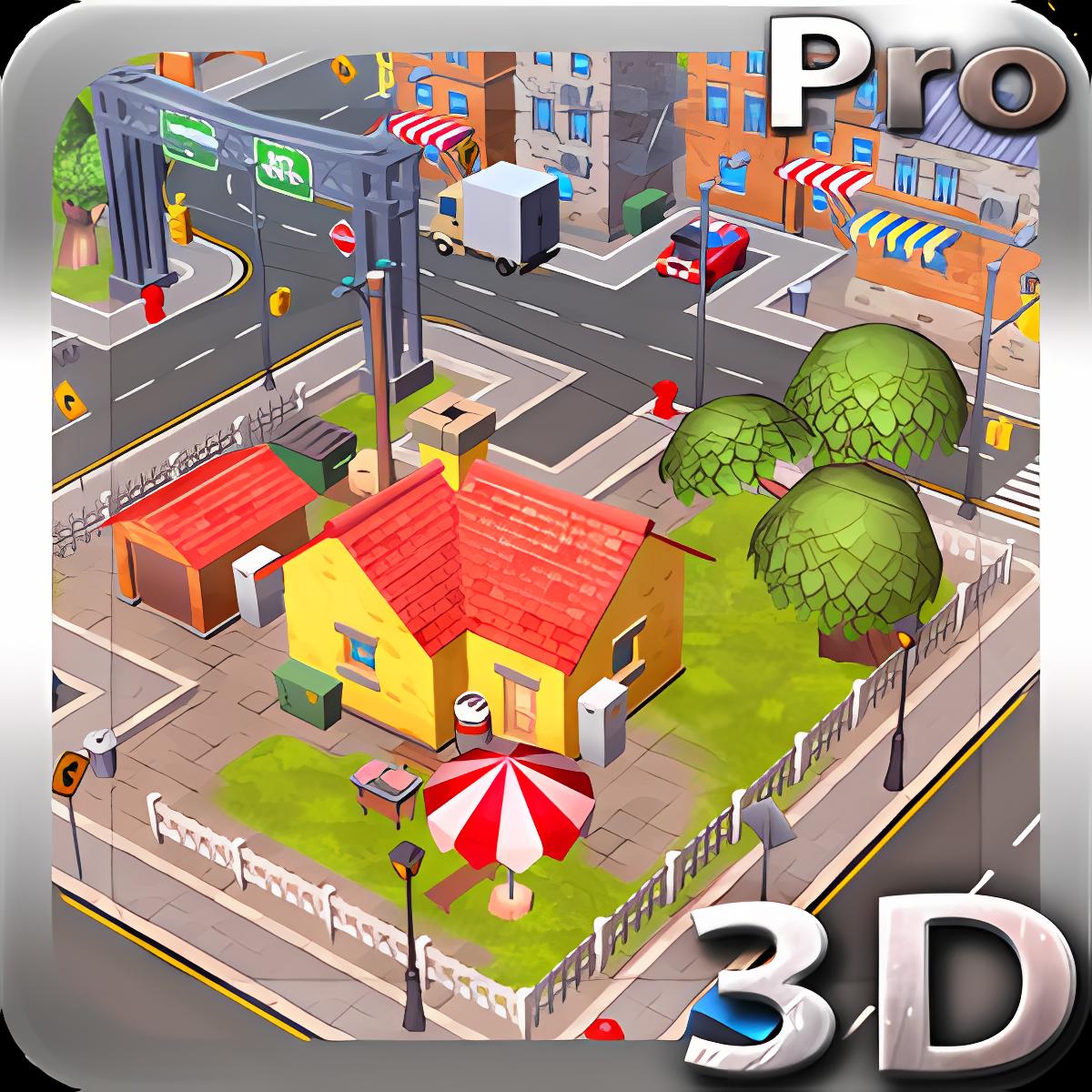Cartoon City 3D live wallpaper 1.0