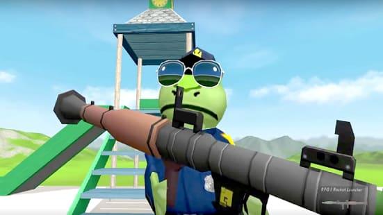 The Amazing Simulator Frog