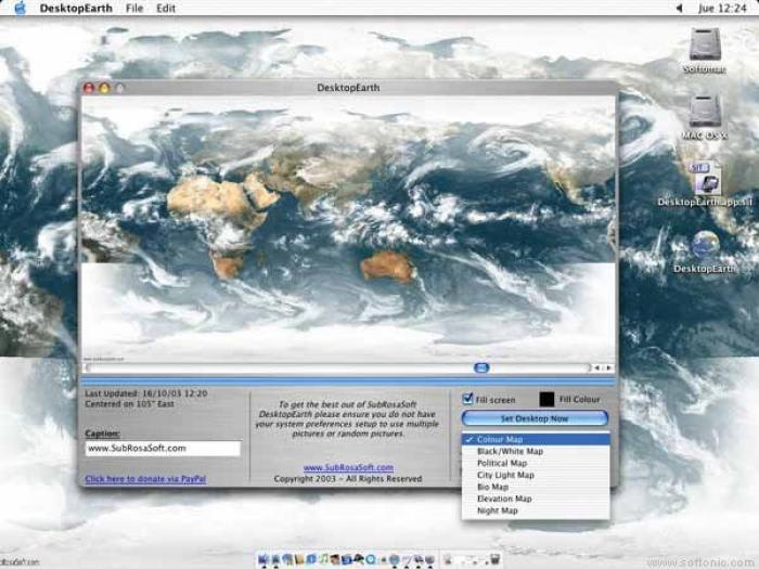 DesktopEarth 3D