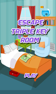 Escape Triple Key Room