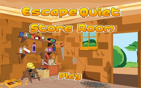 Escape Quiet Store Room