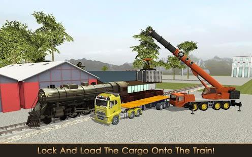 Rail Builder: Crane & Loader