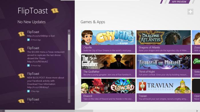FlipToast for Windows 10
